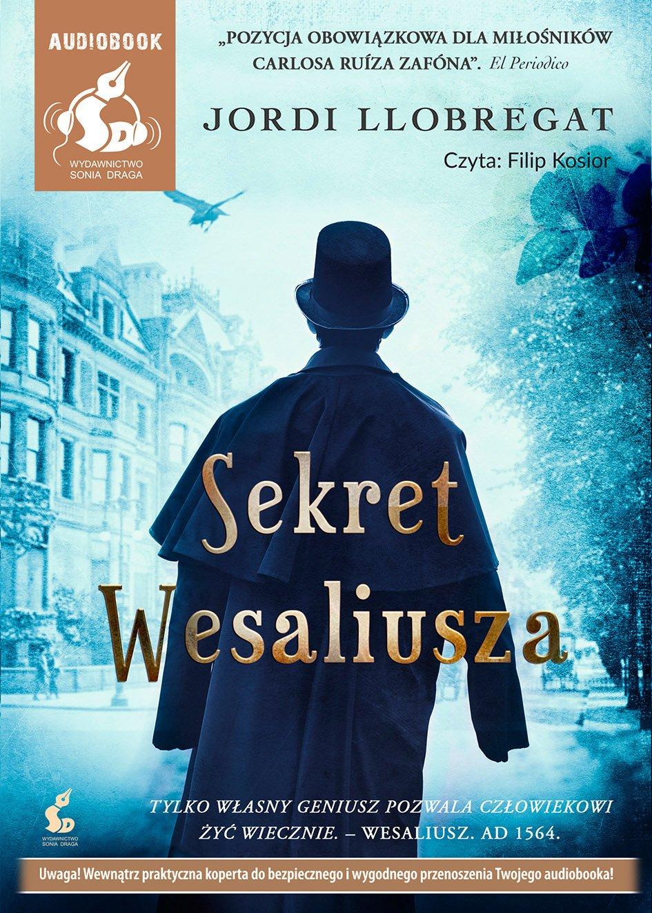Sekret Wesaliusza - Audiobook (Książka audio MP3) do pobrania w całości w archiwum ZIP