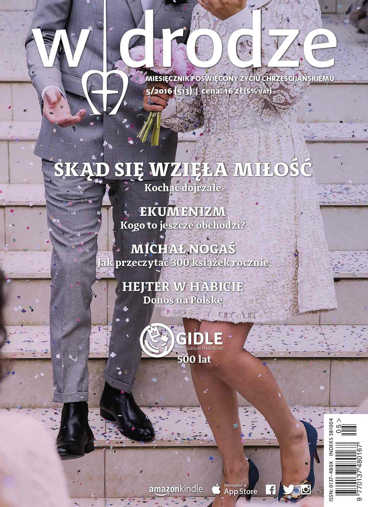 """Miesięcznik """"W drodze"""" nr 513 - Ebook (Książka EPUB) do pobrania w formacie EPUB"""