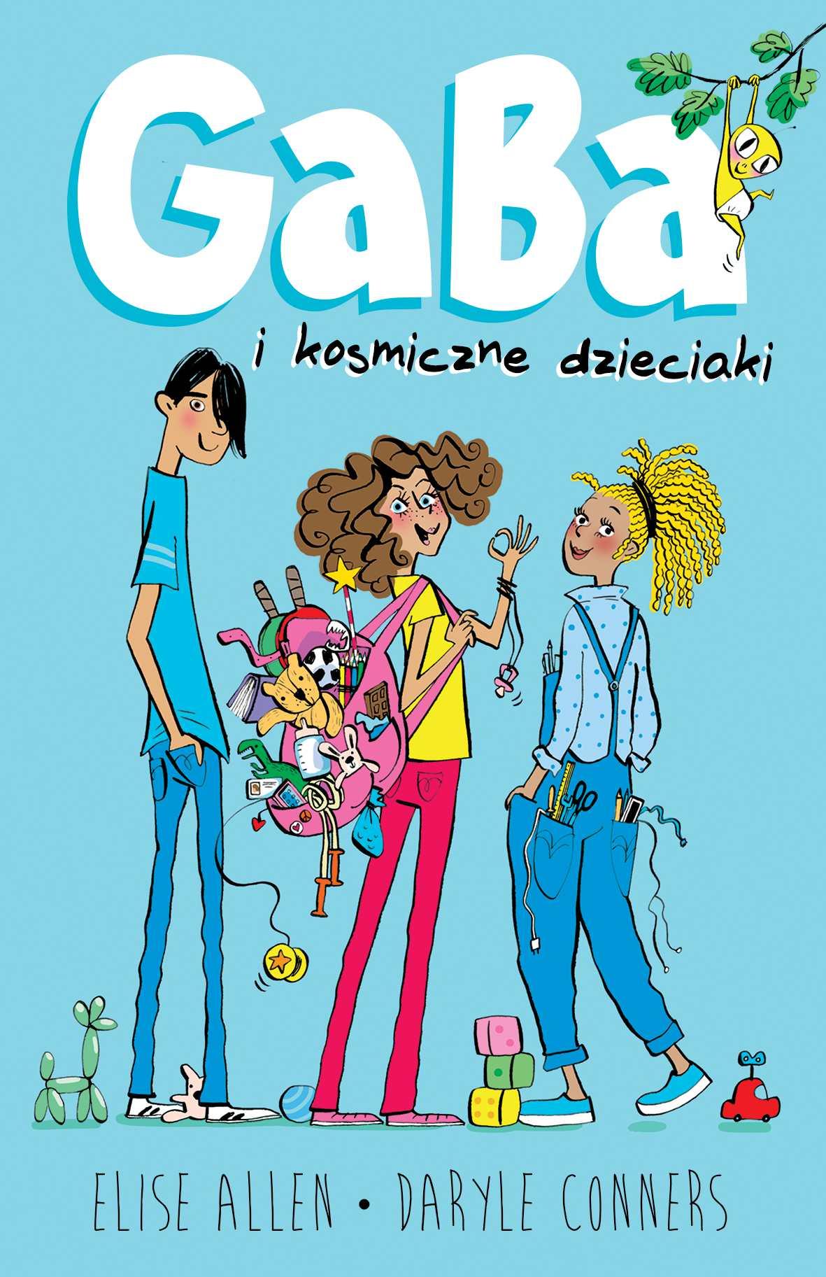 Gaba i kosmiczne dzieciaki - Ebook (Książka EPUB) do pobrania w formacie EPUB