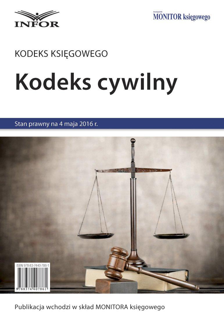 Kodeks Cywilny - Ebook (Książka PDF) do pobrania w formacie PDF