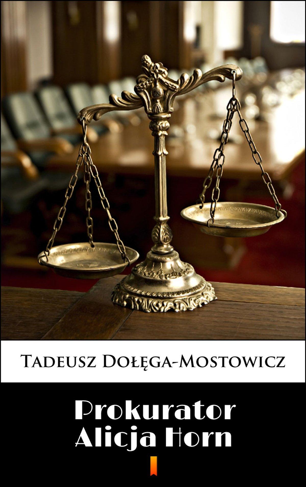 Prokurator Alicja Horn - Ebook (Książka EPUB) do pobrania w formacie EPUB