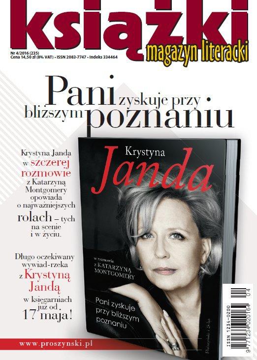 Magazyn Literacki KSIĄŻKI 4/2016 - Ebook (Książka PDF) do pobrania w formacie PDF