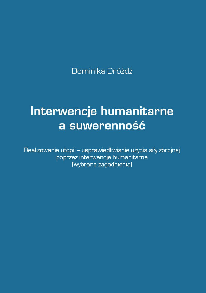 Interwencje humanitarne a suwerenność - Ebook (Książka EPUB) do pobrania w formacie EPUB