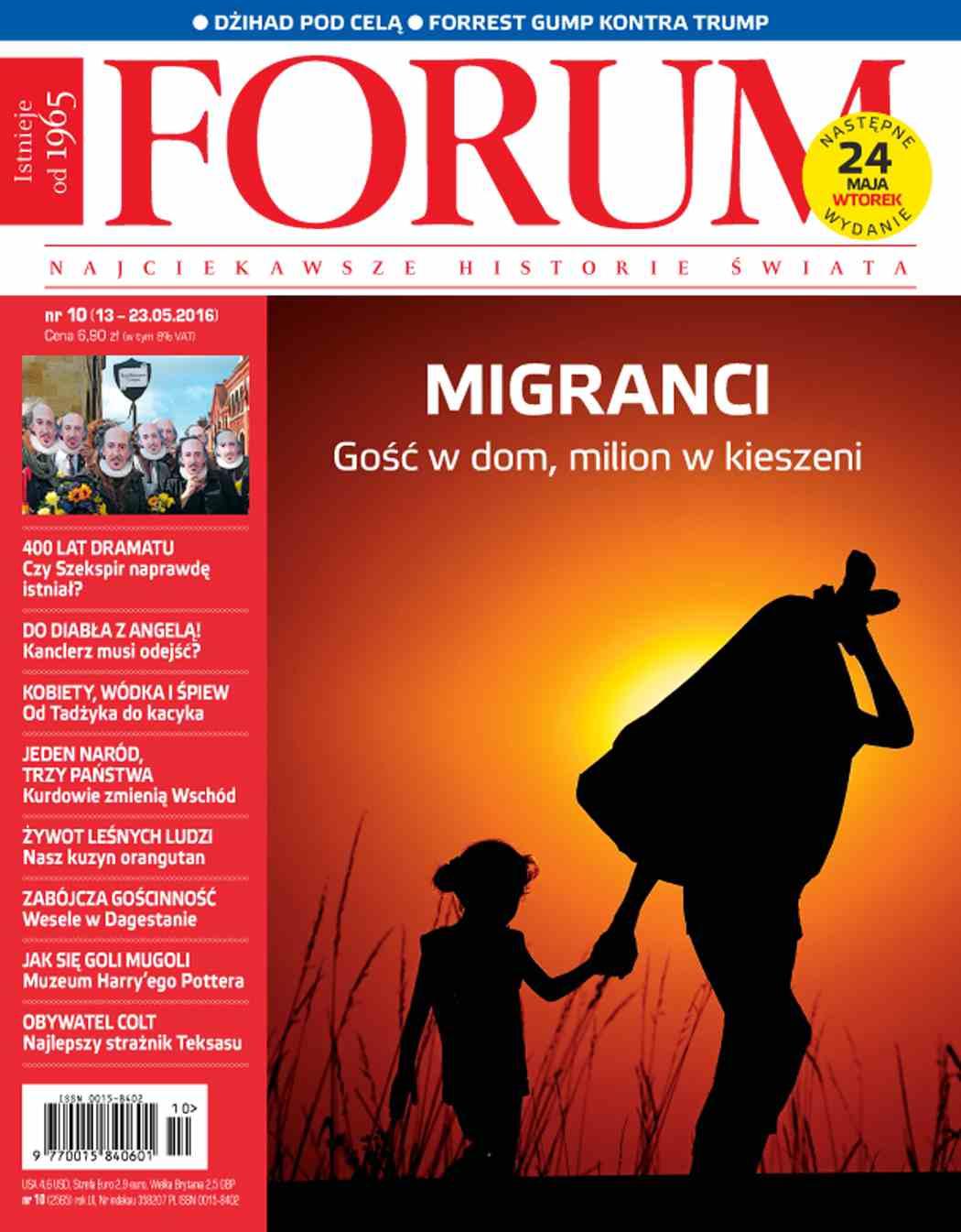 Forum nr 10/2016 - Ebook (Książka PDF) do pobrania w formacie PDF
