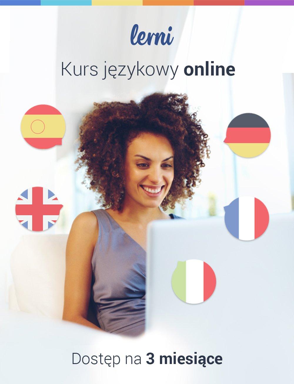 Kurs języków obcych Lerni.us - 3 miesiące dostępu do nauki - Aplikacja do pobrania