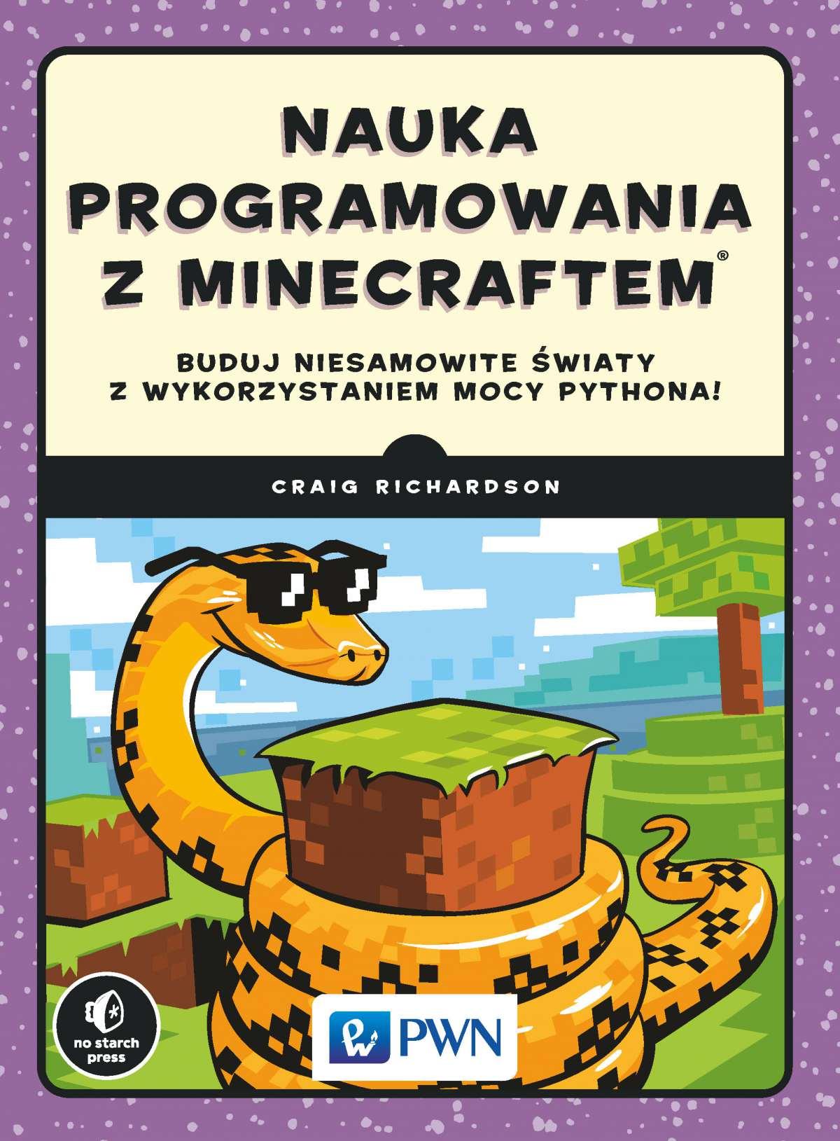 Nauka programowania z Minecraftem - Ebook (Książka EPUB) do pobrania w formacie EPUB