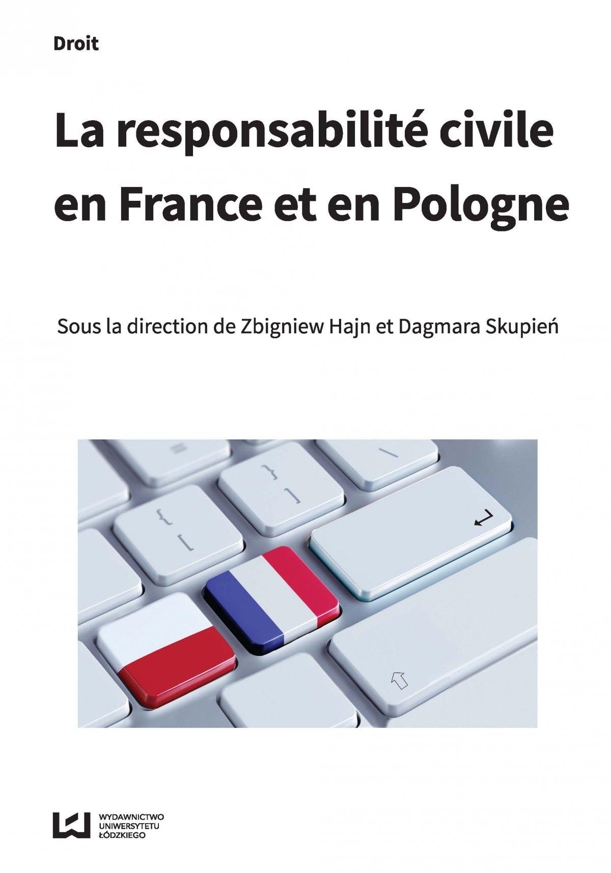 La responsabilité civile en France et en Pologne - Ebook (Książka PDF) do pobrania w formacie PDF