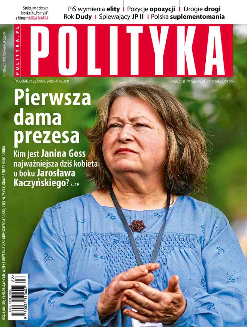 Polityka nr 22/2016 - Ebook (Książka PDF) do pobrania w formacie PDF