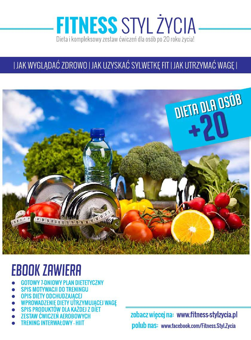 Fitness Styl Życia. Dieta dla osób +20 - Ebook (Książka PDF) do pobrania w formacie PDF
