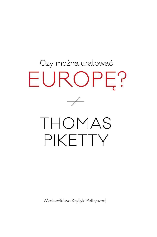 Czy można uratować Europę? - Ebook (Książka na Kindle) do pobrania w formacie MOBI