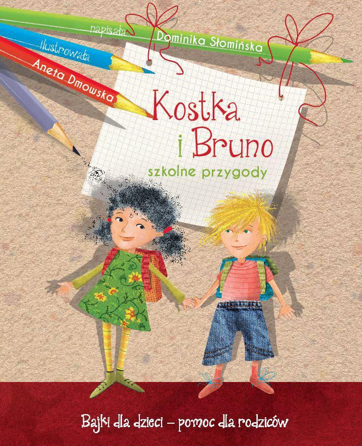Kostka i Bruno. Szkolne przygody - Ebook (Książka na Kindle) do pobrania w formacie MOBI