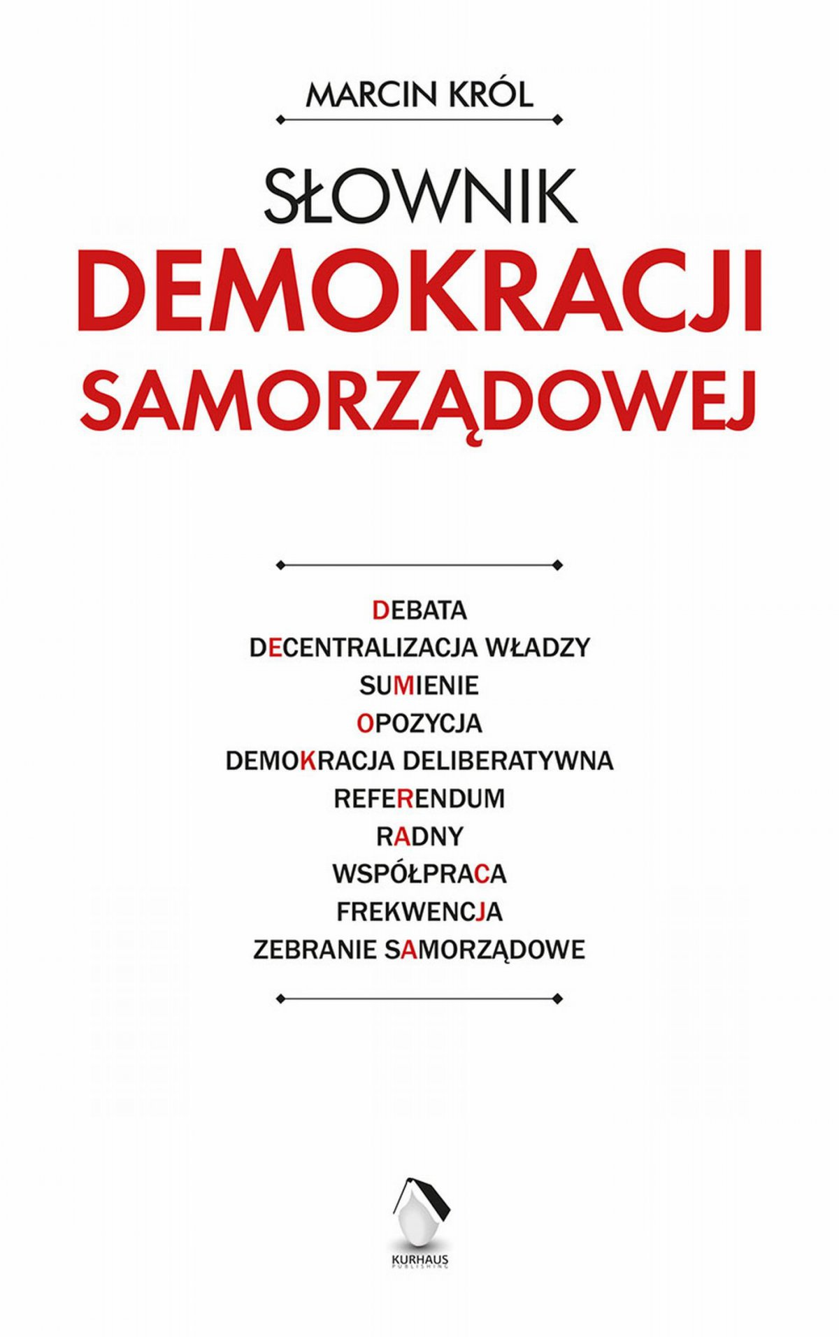 Słownik demokracji samorządowej - Ebook (Książka na Kindle) do pobrania w formacie MOBI
