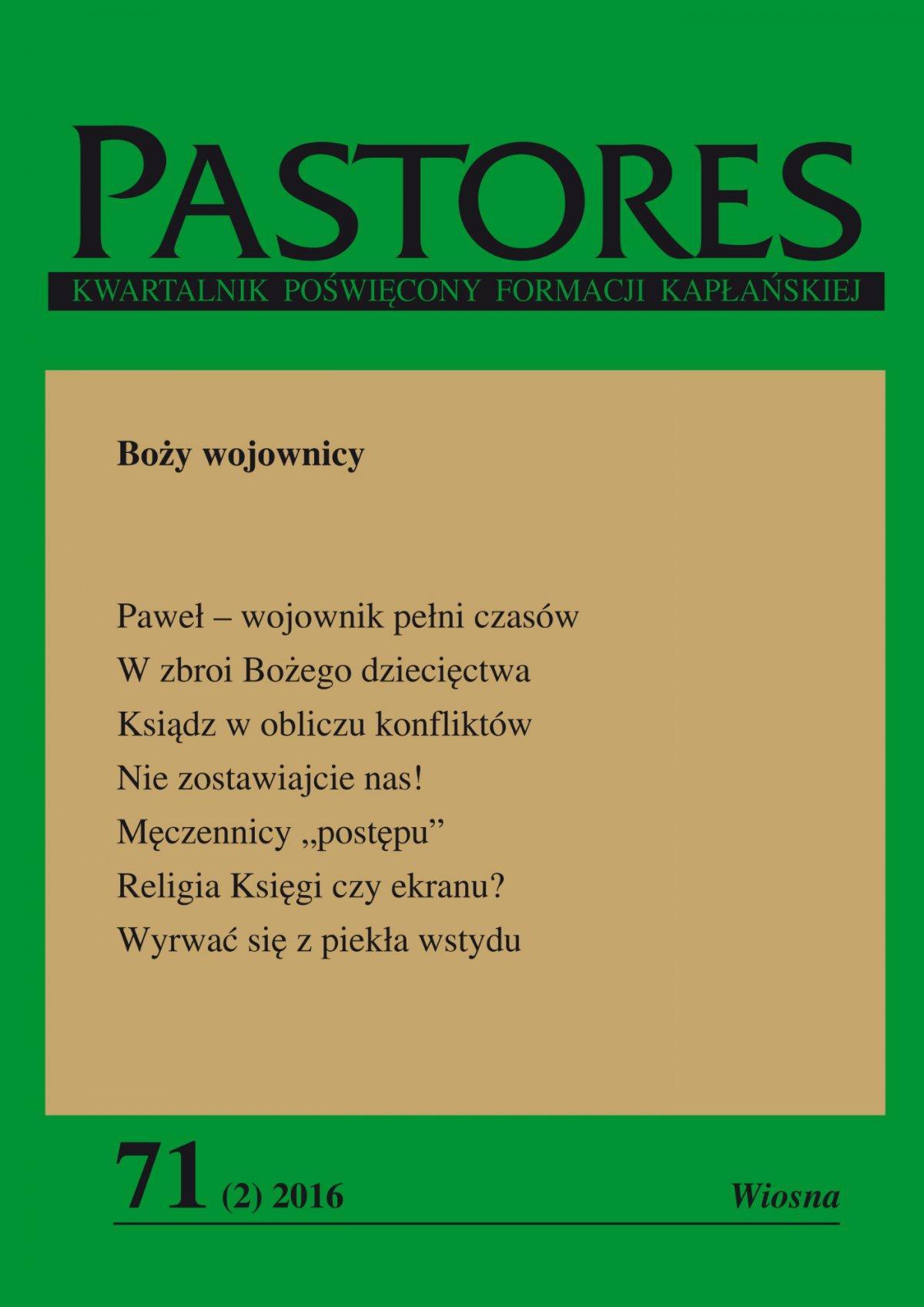 Pastores 71 (2) 2016 - Ebook (Książka EPUB) do pobrania w formacie EPUB