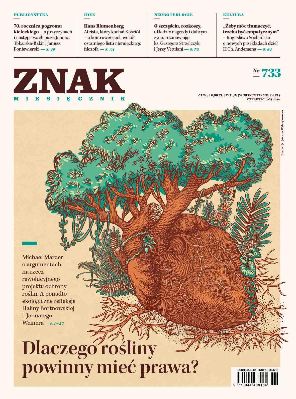 Miesięcznik Znak nr 733 - Dlaczego rośliny powinny mieć prawa? - Ebook (Książka PDF) do pobrania w formacie PDF