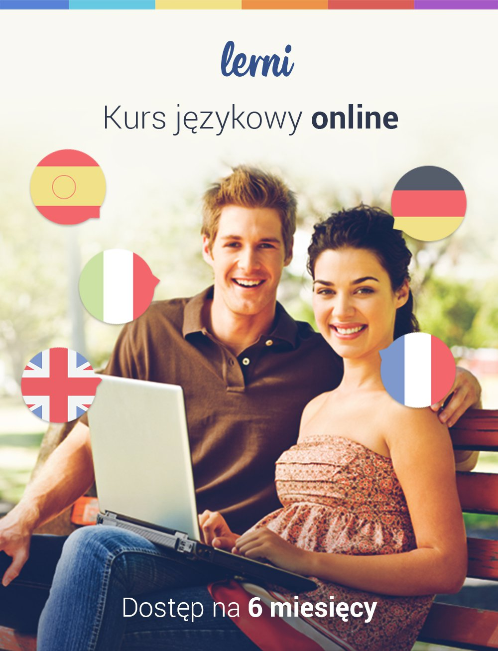 Kurs języków obcych Lerni.us - 6 miesięcy dostępu do nauki - Aplikacja do pobrania