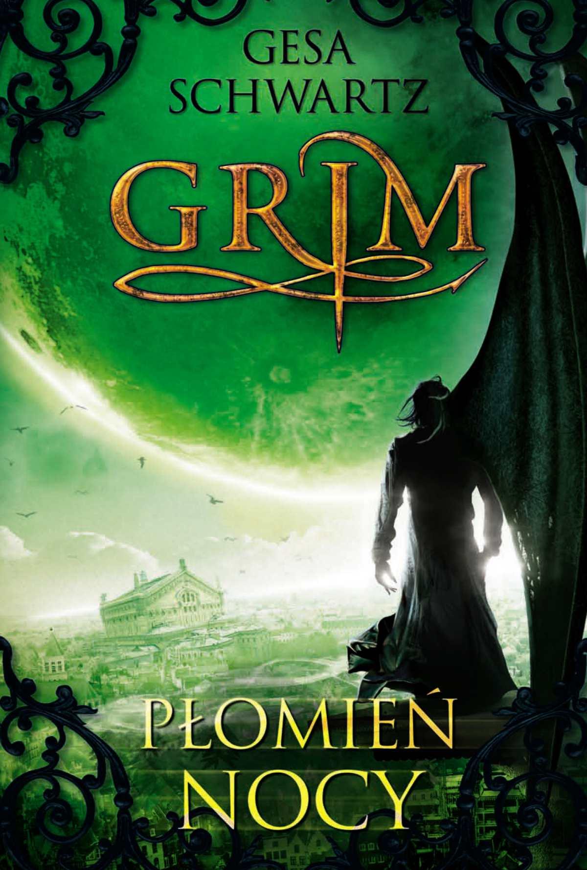 Grim 3. Płomień nocy - Ebook (Książka na Kindle) do pobrania w formacie MOBI