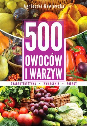 500 owoców i warzyw - Ebook (Książka PDF) do pobrania w formacie PDF