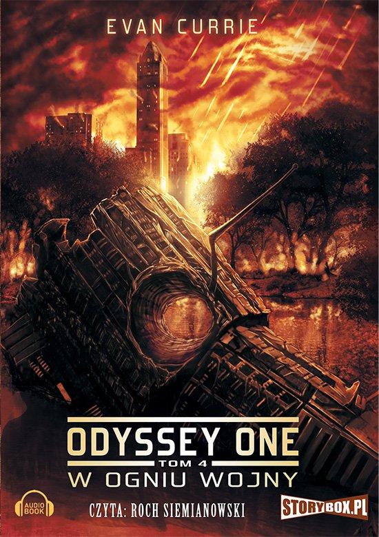 Odyssey One. Tom 4. W ogniu wojny - Audiobook (Książka audio MP3) do pobrania w całości w archiwum ZIP