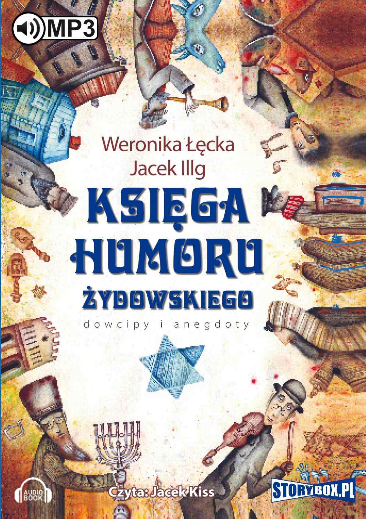 Księga humoru żydowskiego - Audiobook (Książka audio MP3) do pobrania w całości w archiwum ZIP
