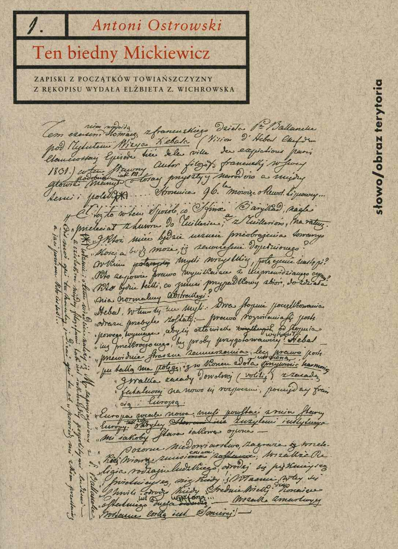 Ten biedny Mickiewicz... - Ebook (Książka na Kindle) do pobrania w formacie MOBI