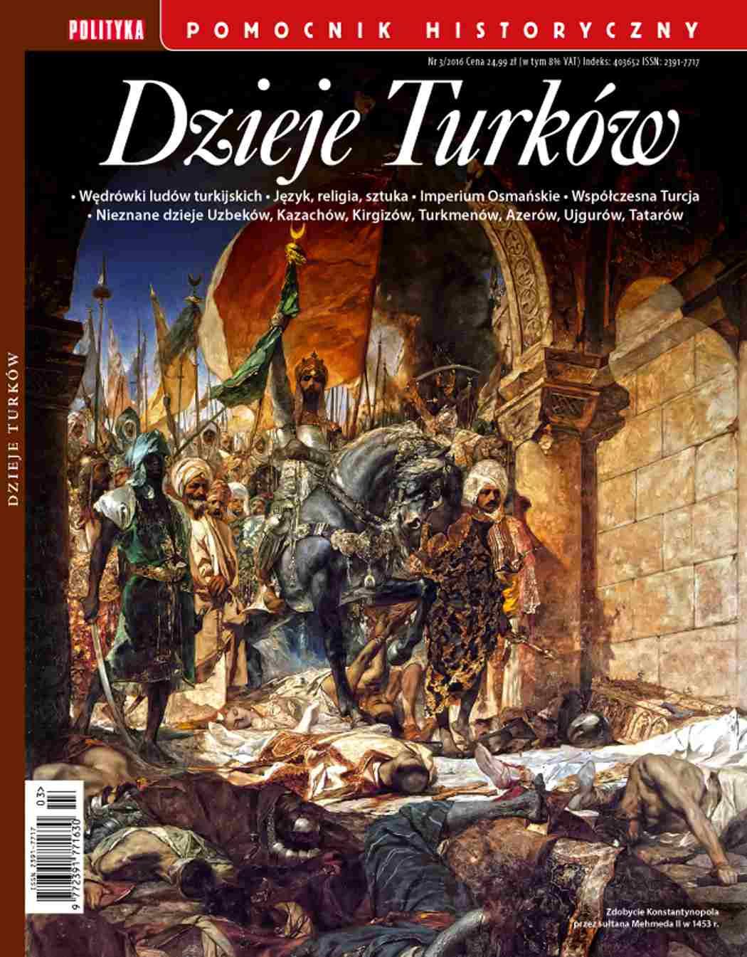 Pomocnik Historyczny. Dzieje Turków - Ebook (Książka PDF) do pobrania w formacie PDF