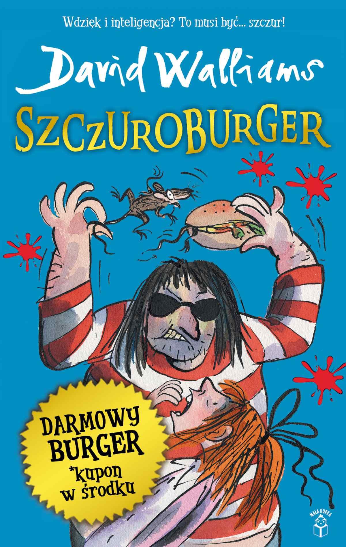 Szczuroburger - Ebook (Książka EPUB) do pobrania w formacie EPUB