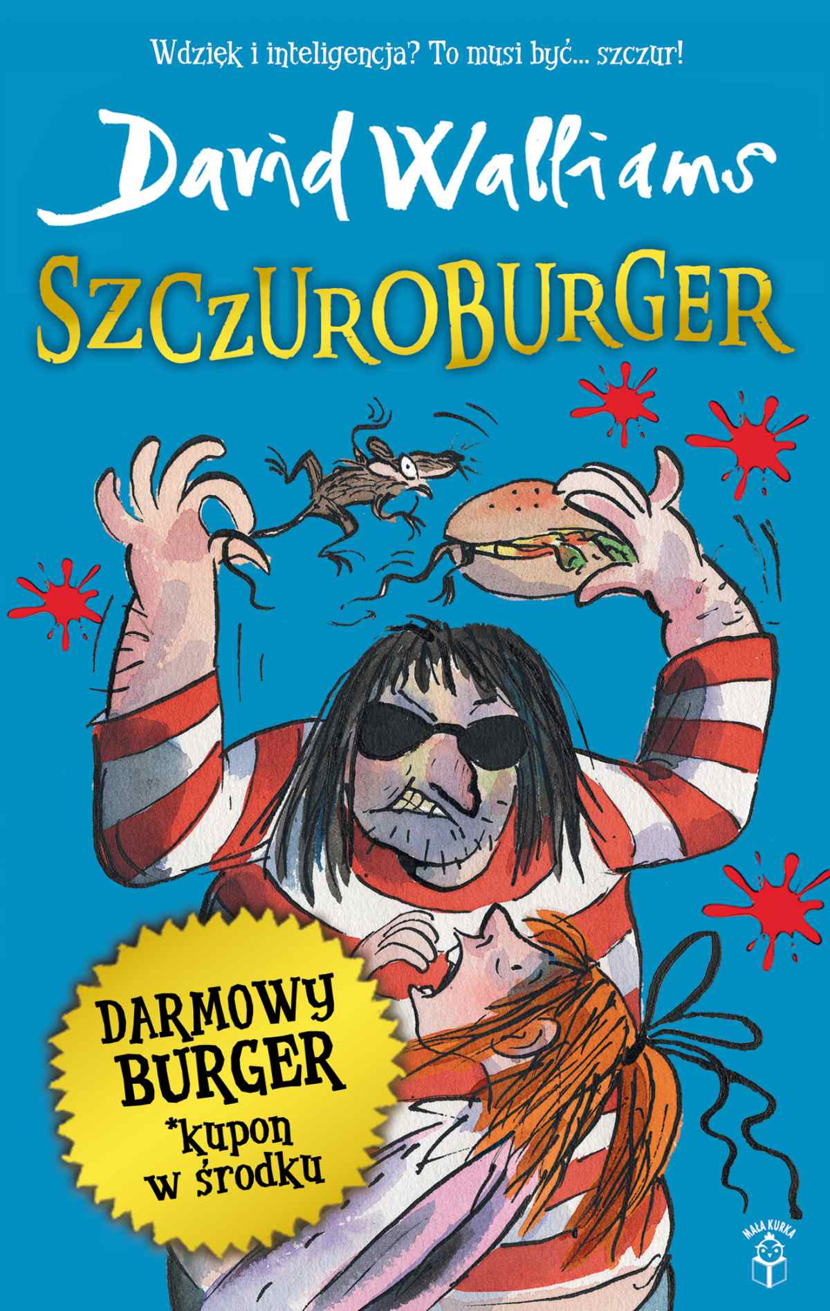 Szczuroburger - Ebook (Książka na Kindle) do pobrania w formacie MOBI