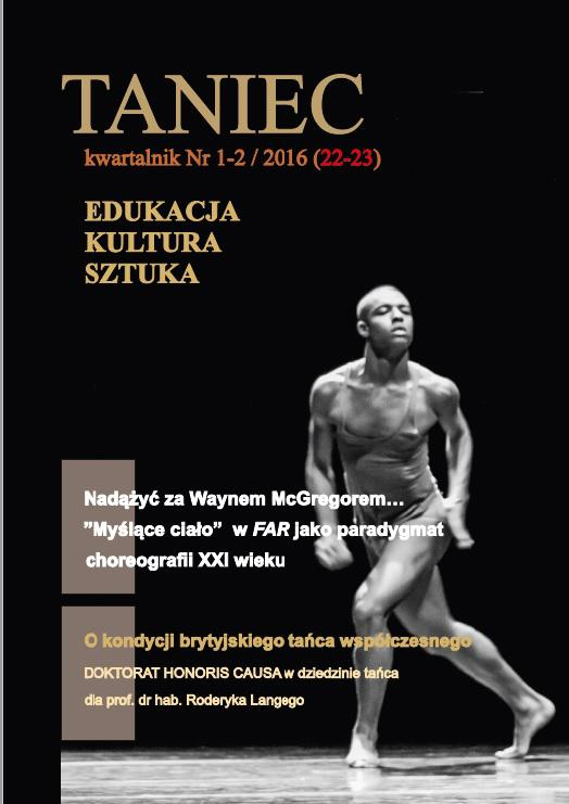 Taniec nr 1-2/2016 (22-23) - Ebook (Książka PDF) do pobrania w formacie PDF