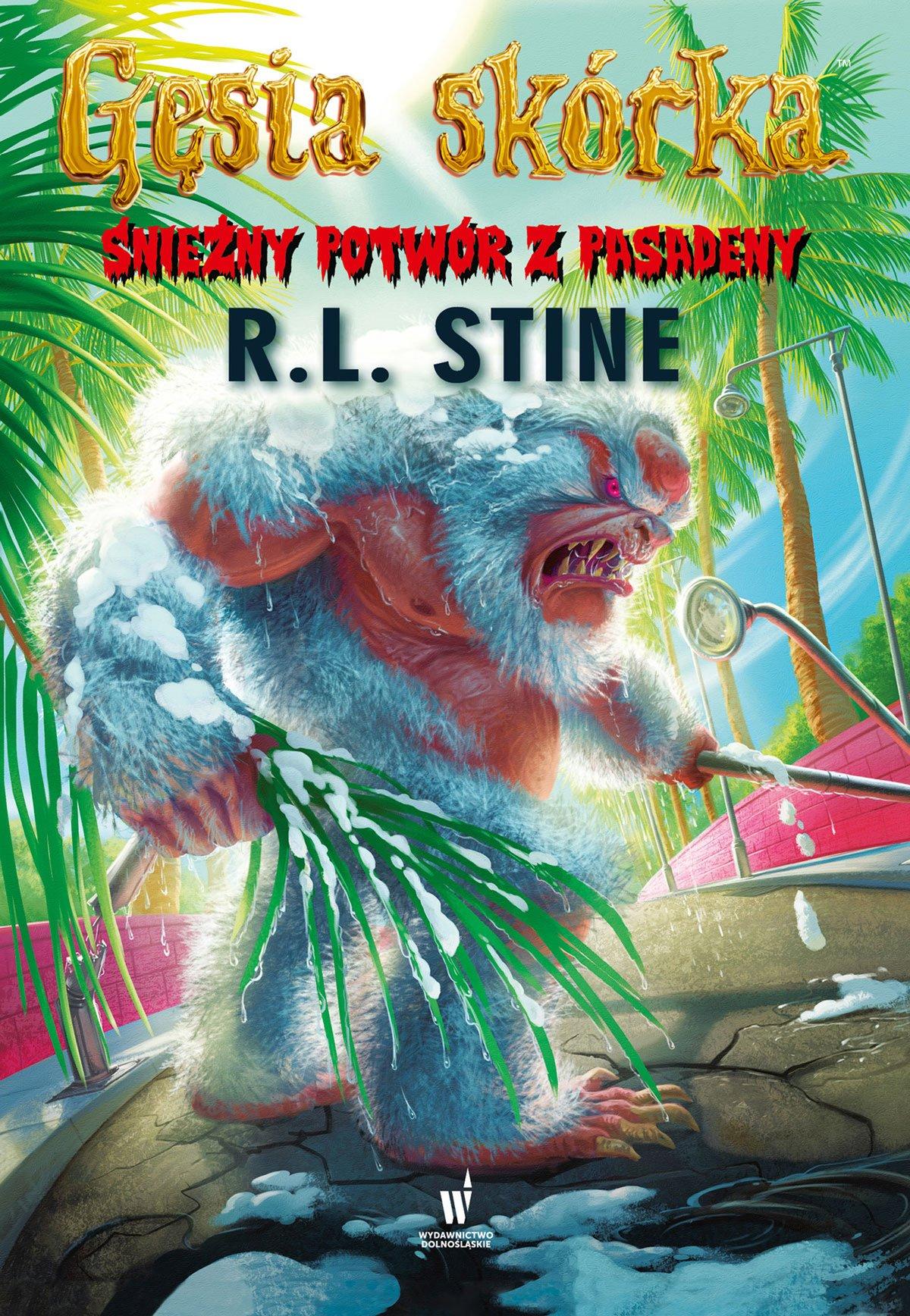 Śnieżny potwór z Pasadeny - Ebook (Książka EPUB) do pobrania w formacie EPUB