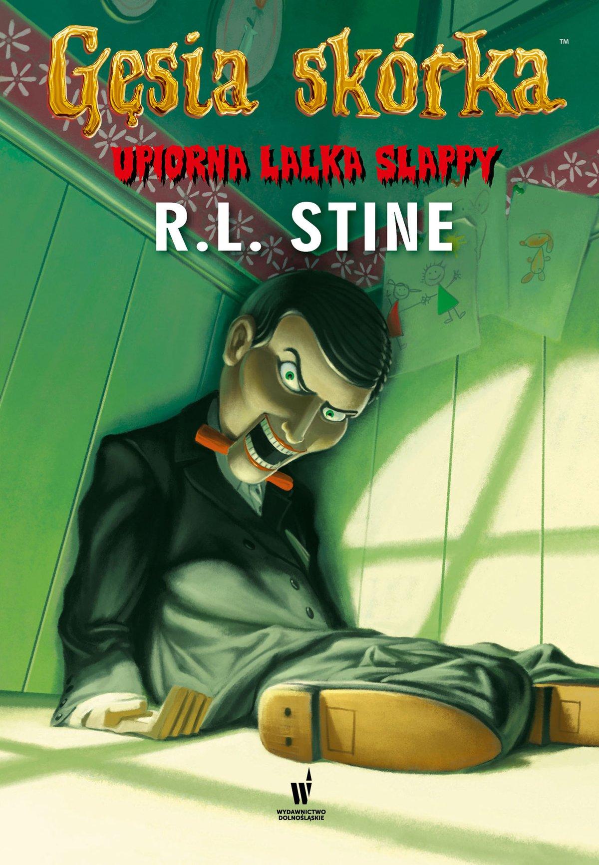 Upiorna lalka Slappy - Ebook (Książka EPUB) do pobrania w formacie EPUB