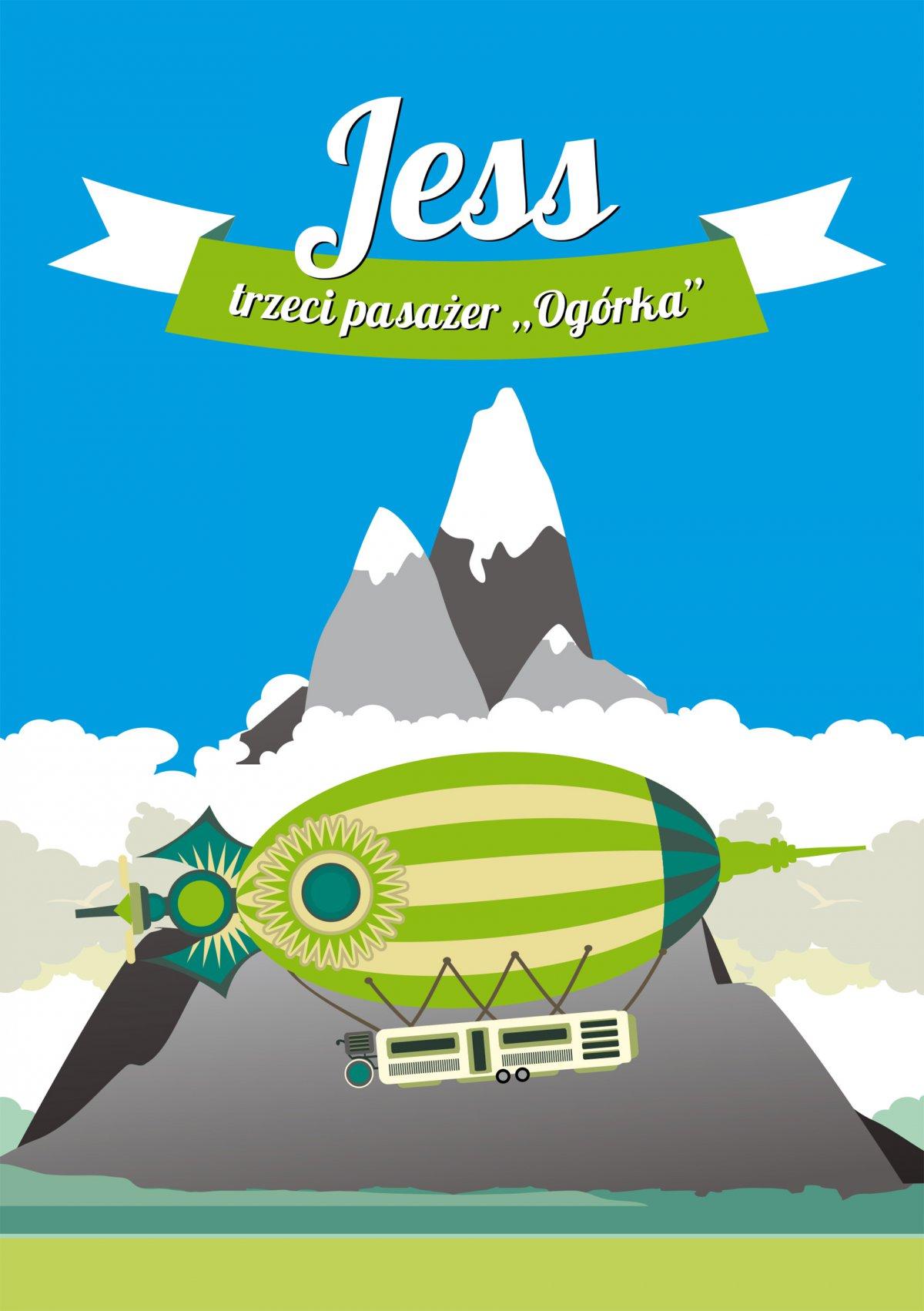 """Jess, trzeci pasażer """"Ogórka"""" - Ebook (Książka EPUB) do pobrania w formacie EPUB"""