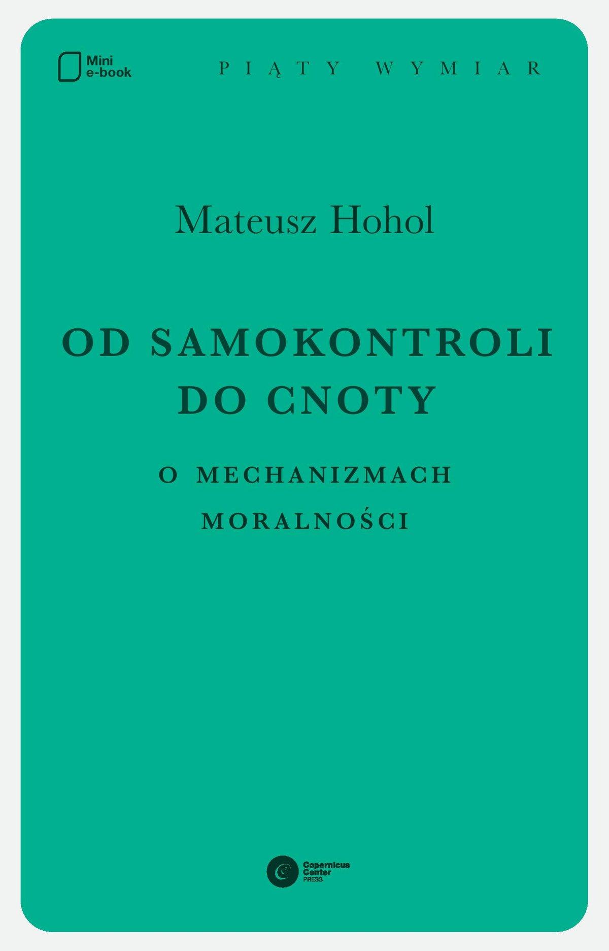 Od samokontroli do cnoty - Ebook (Książka EPUB) do pobrania w formacie EPUB