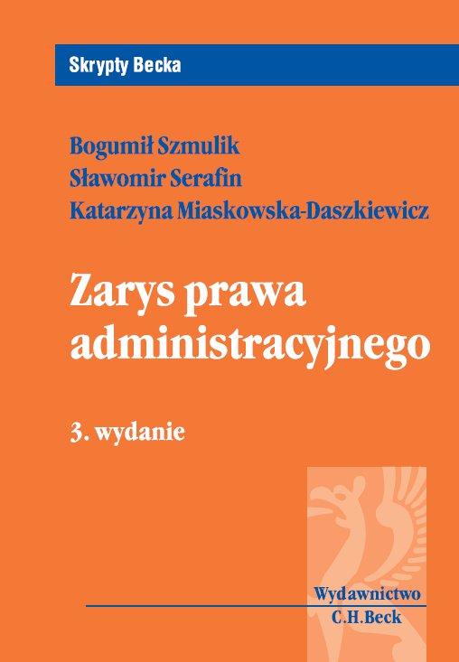 Zarys prawa administracyjnego - Ebook (Książka PDF) do pobrania w formacie PDF