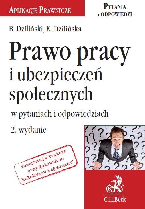 Prawo pracy i ubezpieczeń społecznych w pytaniach i odpowiedziach - Ebook (Książka PDF) do pobrania w formacie PDF