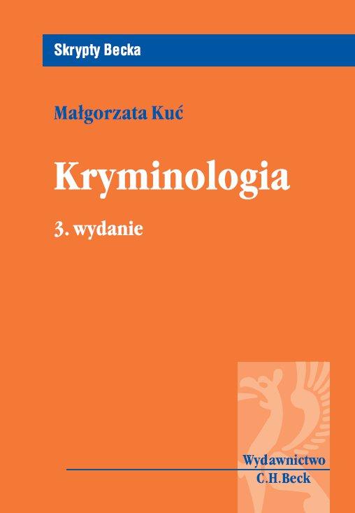 Kryminologia. Wydanie 3 - Ebook (Książka PDF) do pobrania w formacie PDF