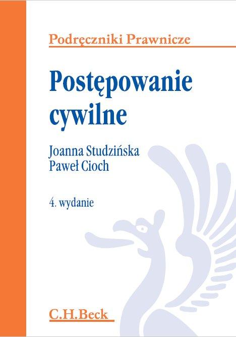 Postępowanie cywilne. Wydanie 4 - Ebook (Książka PDF) do pobrania w formacie PDF