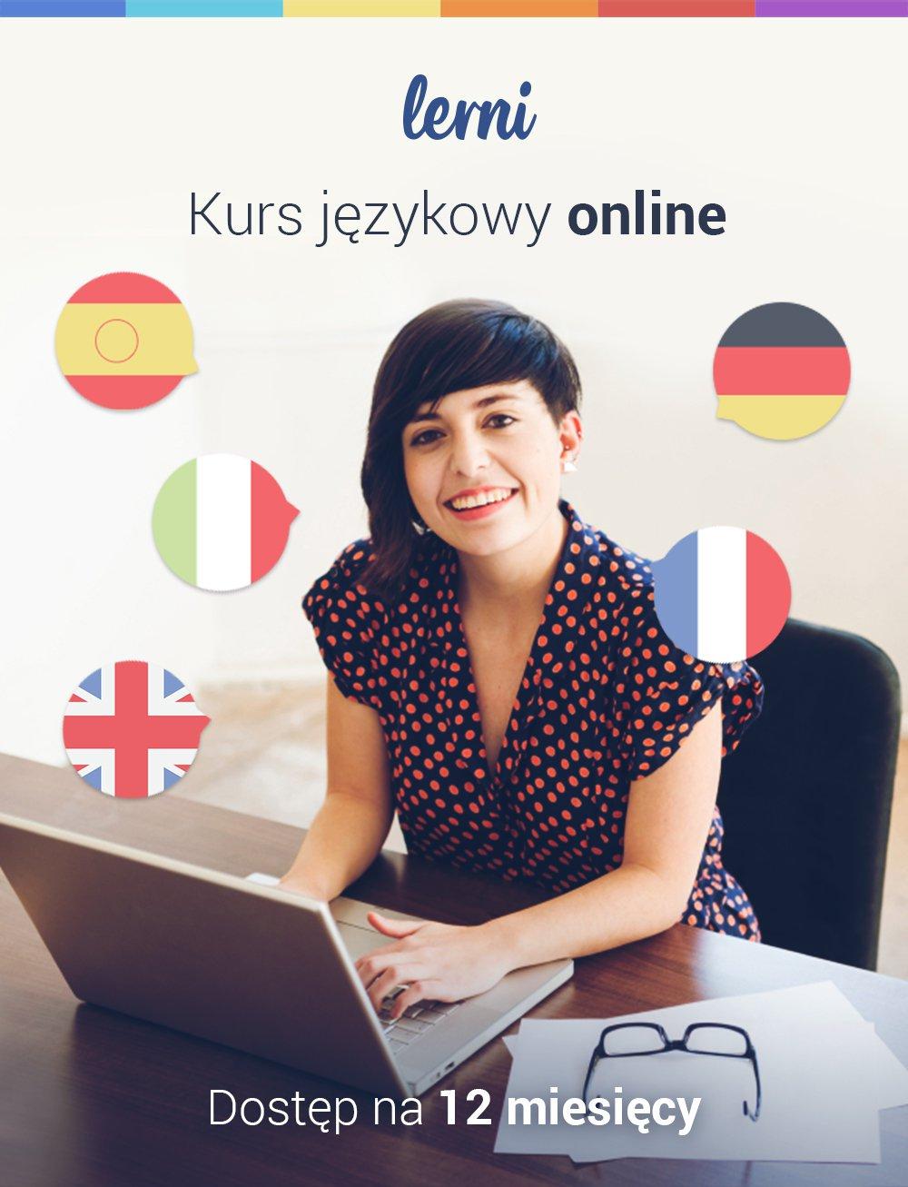 Kurs języków obcych Lerni.us - 12 miesięcy dostępu do nauki - Aplikacja do pobrania
