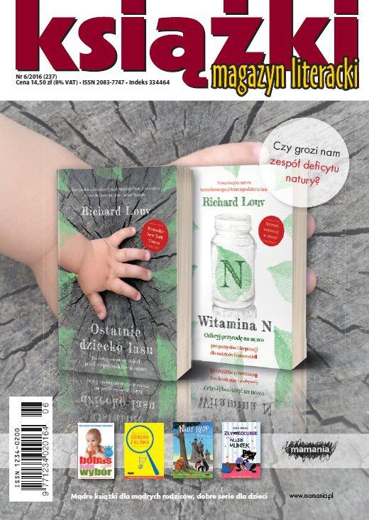 Magazyn Literacki KSIĄŻKI 6/2016 - Ebook (Książka PDF) do pobrania w formacie PDF