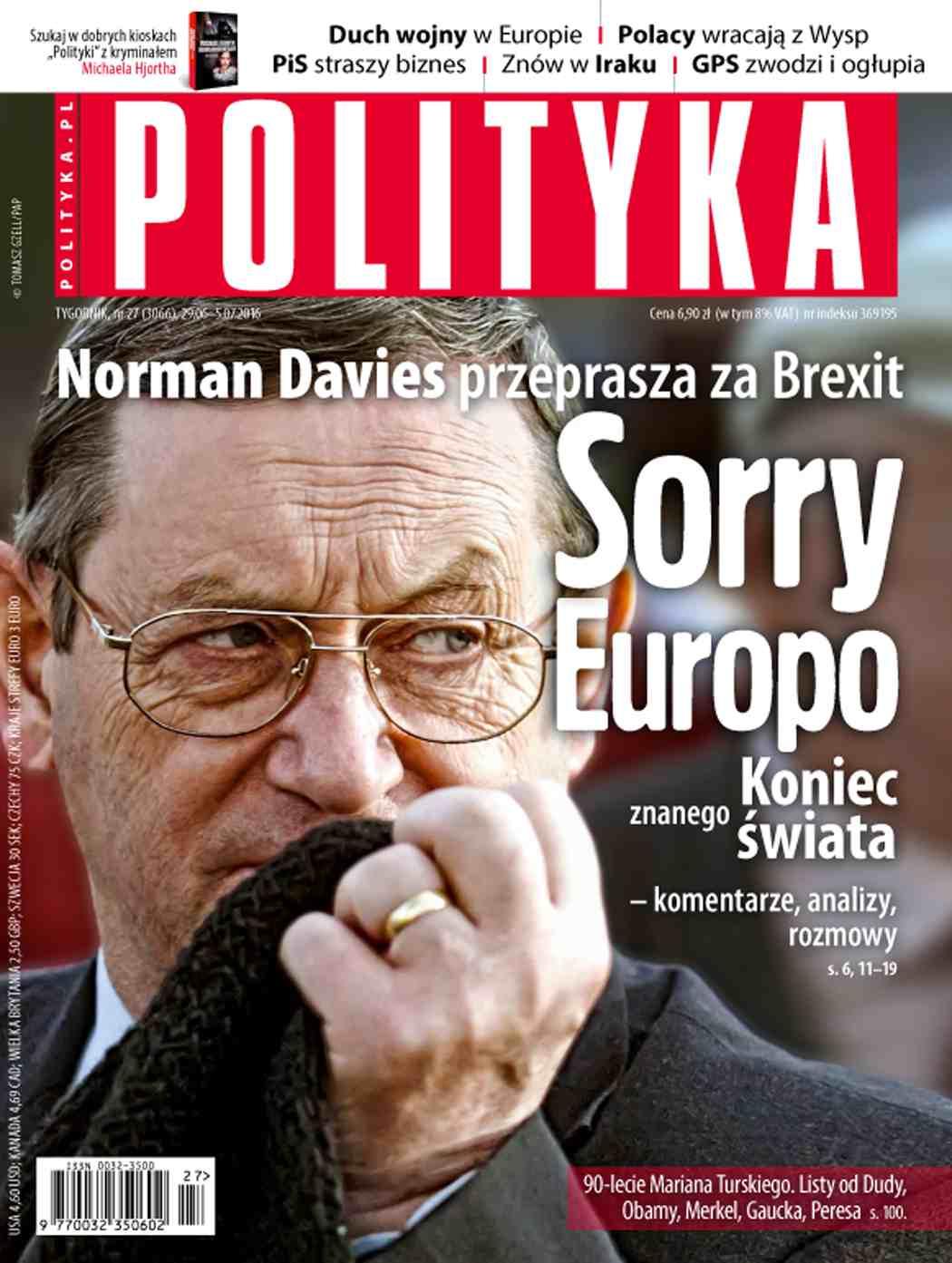 Polityka nr 27/2016 - Ebook (Książka PDF) do pobrania w formacie PDF