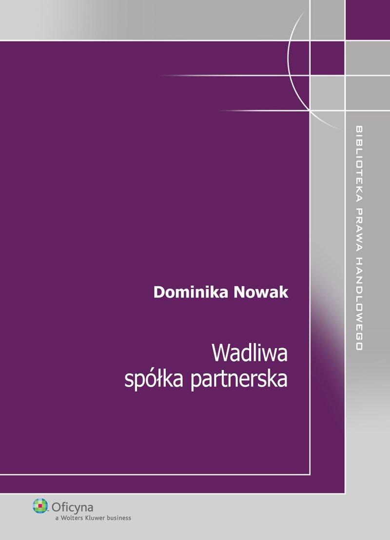 Wadliwa spółka partnerska - Ebook (Książka PDF) do pobrania w formacie PDF