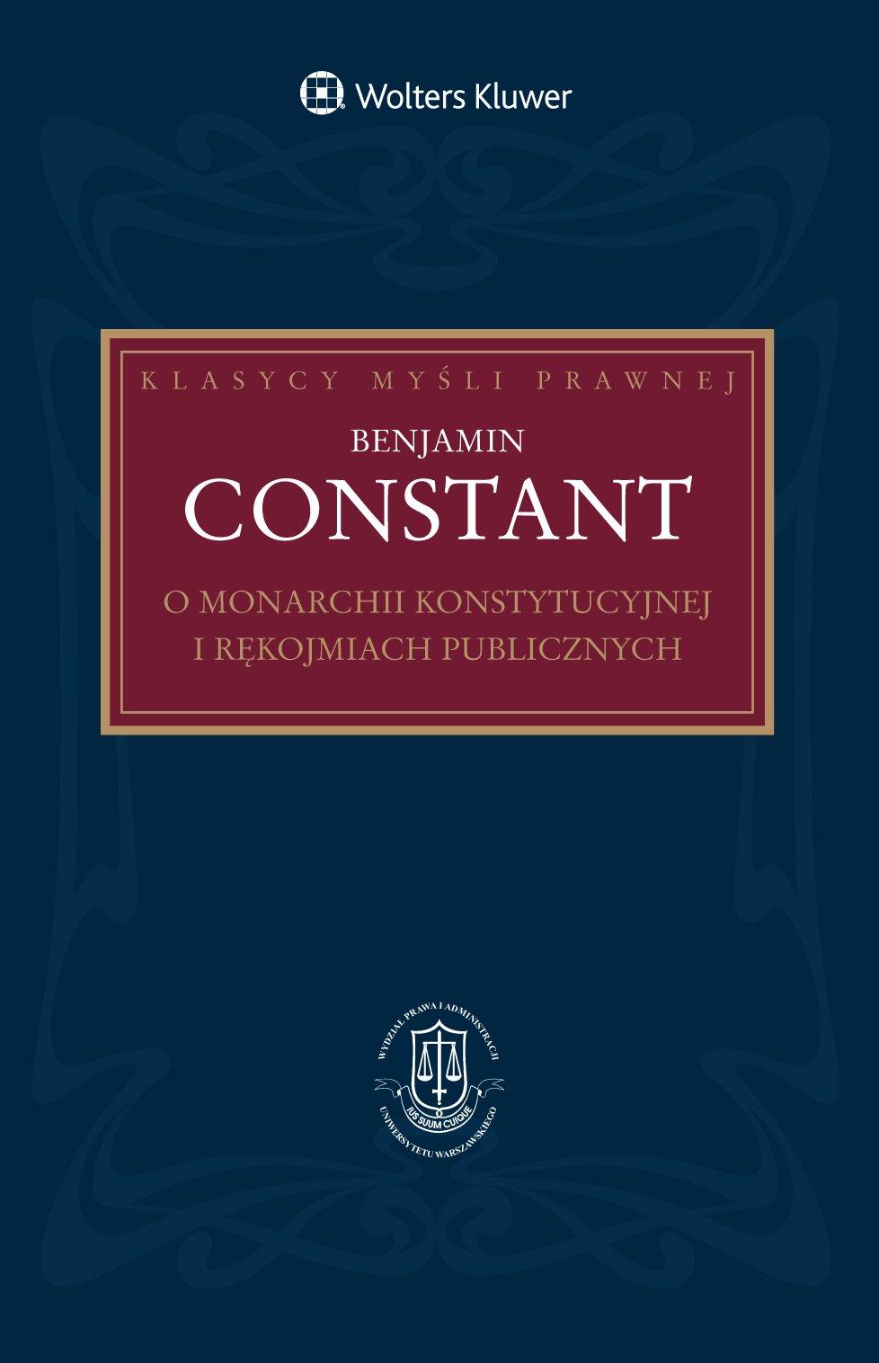 O monarchii konstytucyjnej i rękojmiach publicznych - Ebook (Książka PDF) do pobrania w formacie PDF