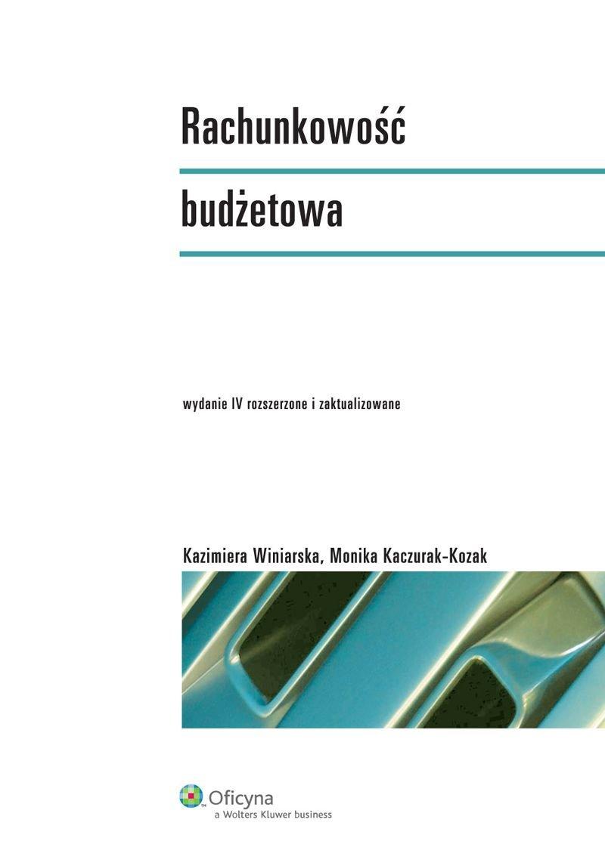 Rachunkowość budżetowa - Ebook (Książka PDF) do pobrania w formacie PDF