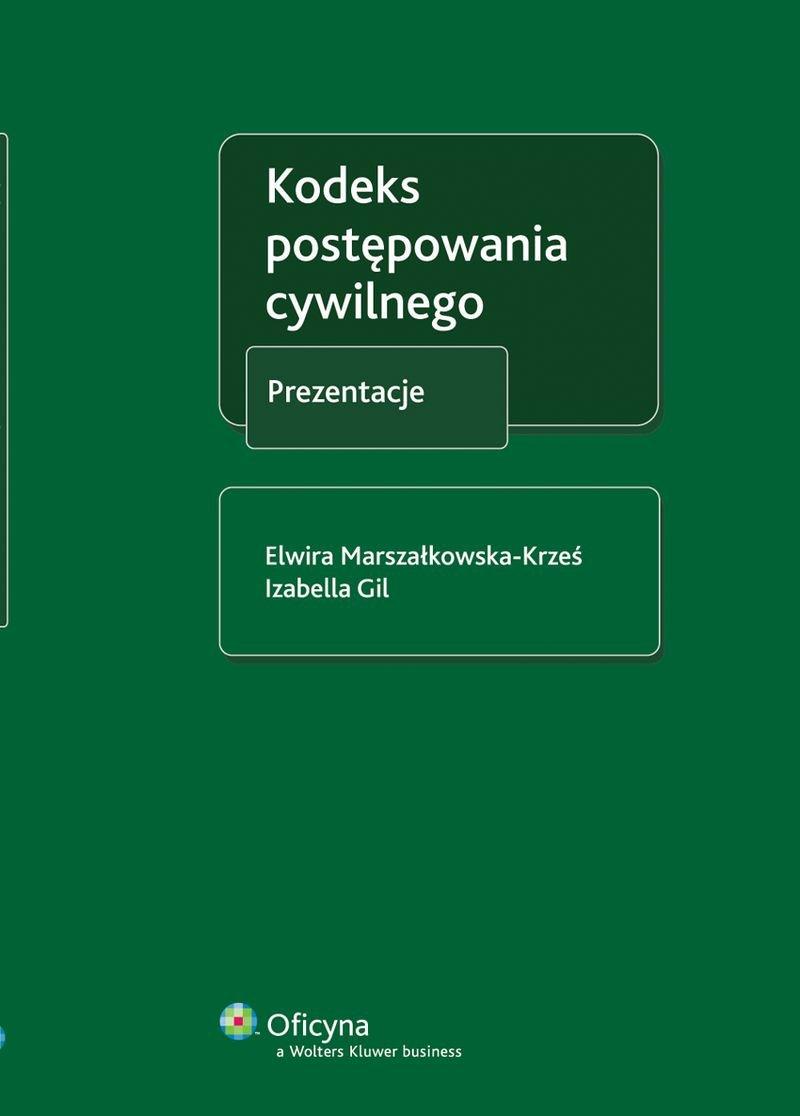 Kodeks postępowania cywilnego. Prezentacje - Ebook (Książka PDF) do pobrania w formacie PDF