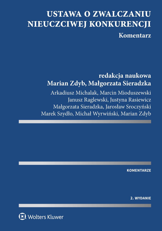 Ustawa o zwalczaniu nieuczciwej konkurencji. Komentarz - Ebook (Książka PDF) do pobrania w formacie PDF