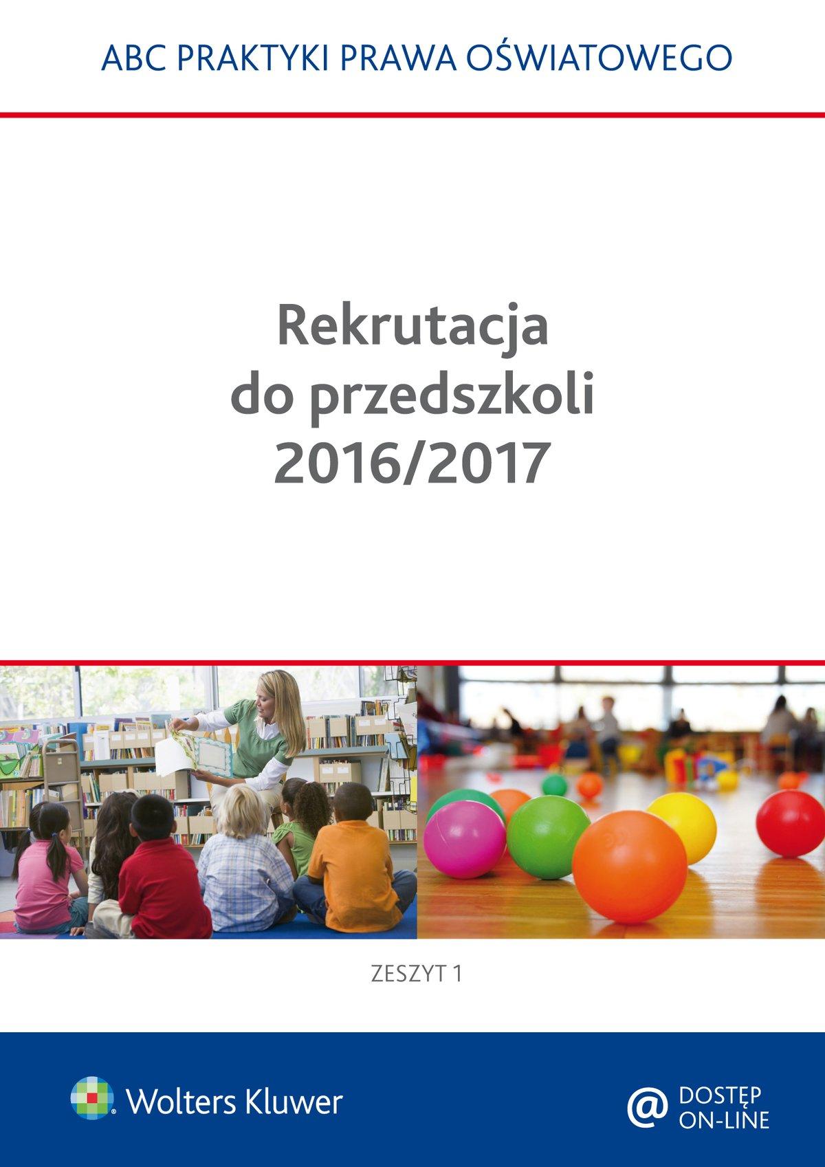 Rekrutacja do przedszkoli 2016/2017 - Ebook (Książka PDF) do pobrania w formacie PDF