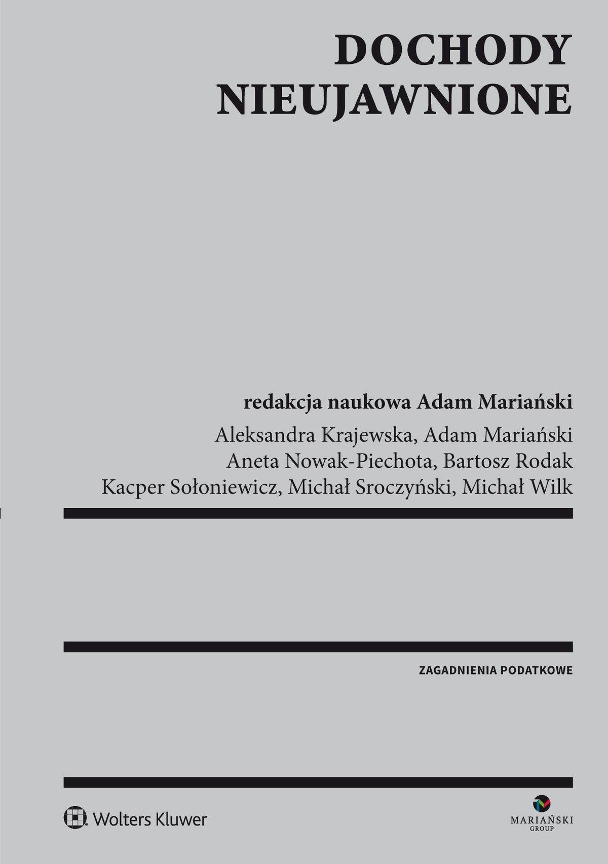 Dochody nieujawnione - Ebook (Książka PDF) do pobrania w formacie PDF