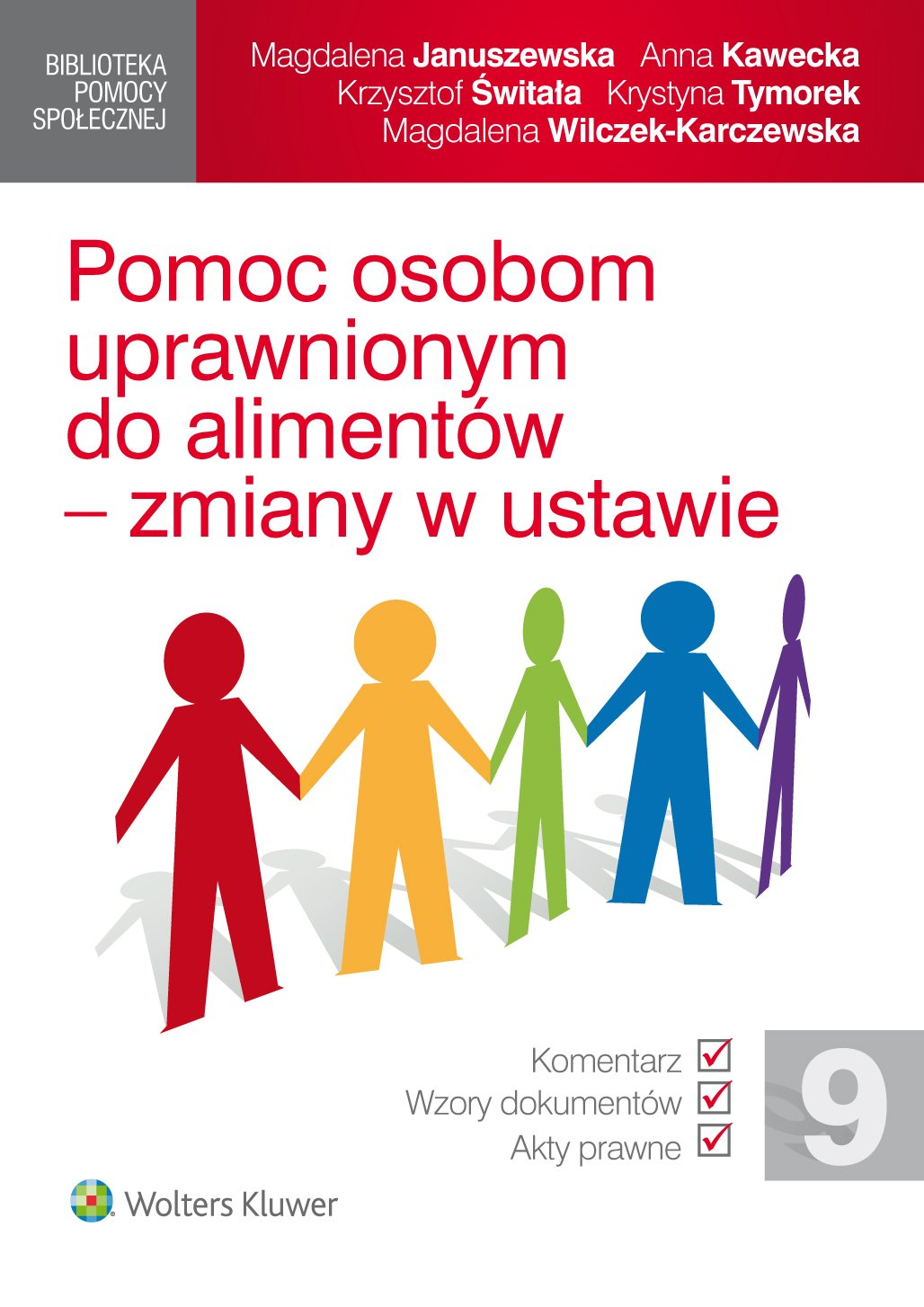 Pomoc osobom uprawnionym do alimentów - zmiany w ustawie - Ebook (Książka PDF) do pobrania w formacie PDF