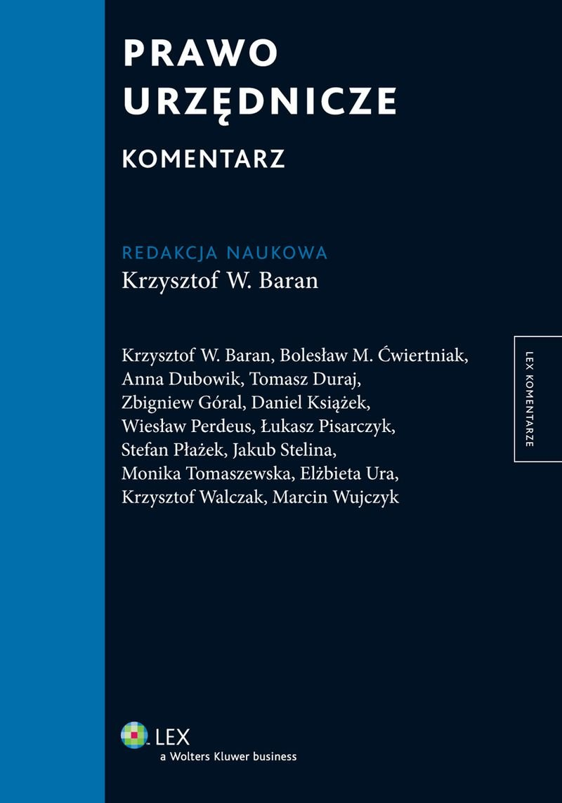 Prawo urzędnicze. Komentarz - Ebook (Książka PDF) do pobrania w formacie PDF