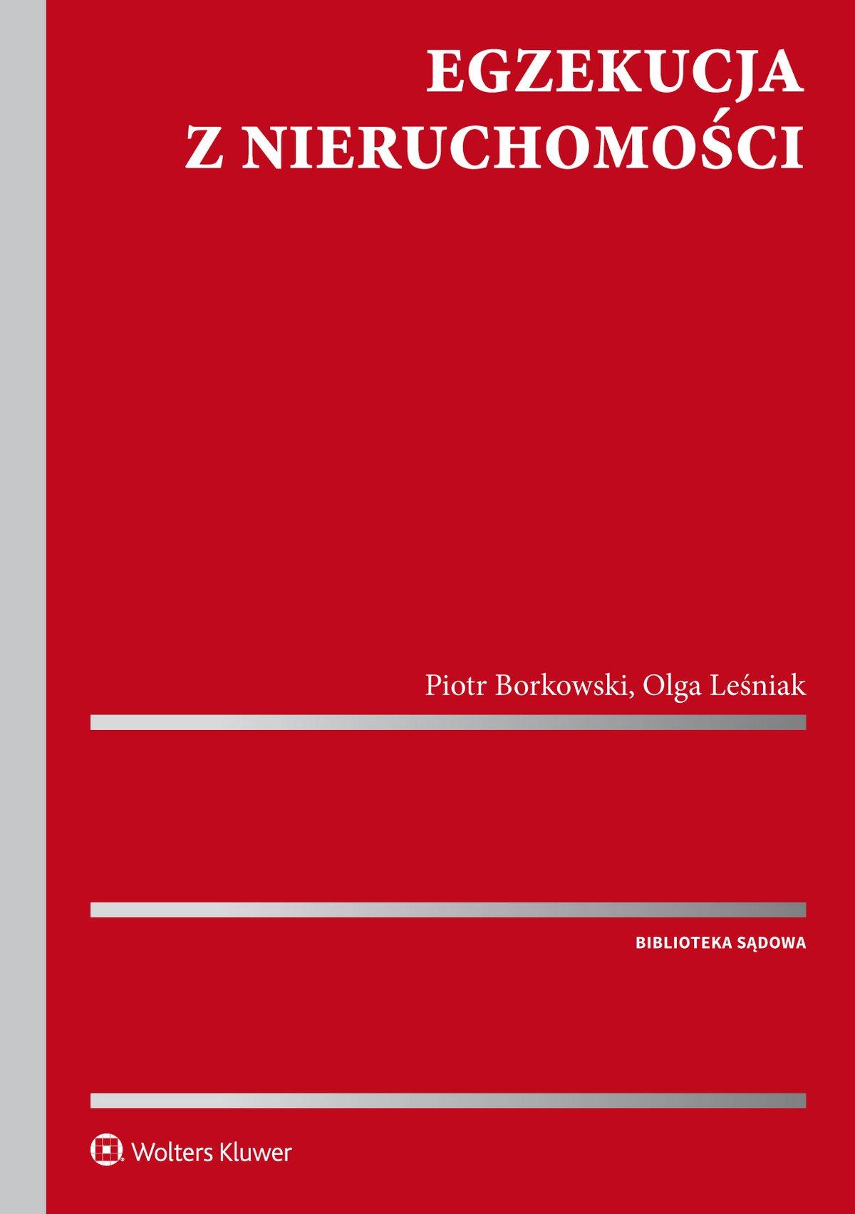 Egzekucja z nieruchomości - Ebook (Książka PDF) do pobrania w formacie PDF