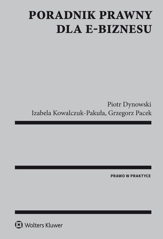 Poradnik prawny dla e-biznesu - Ebook (Książka PDF) do pobrania w formacie PDF